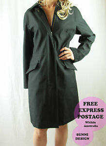 NWOT-COUNTRY-ROAD-Large-Winter-Black-Oversized-Jacket-Made-from-Imported-fabric
