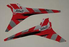 HONDA CRF 250 CRF 450 AIRBOX AIR BOX GRAPHICS STICKERS 09 10 11 12