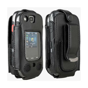 Verizon-Swivel-Fitted-Leather-Case-for-Samsung-Convoy-3-U680-Black