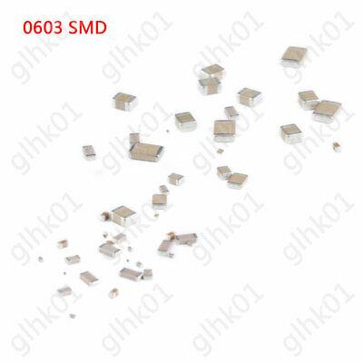100PCS 0603 4.7pF 50V SMD Ceramic Capacitors