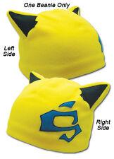 **License** Durarara SD Celty Helmet Yellow Beanie Headwear Cap Hat #2701