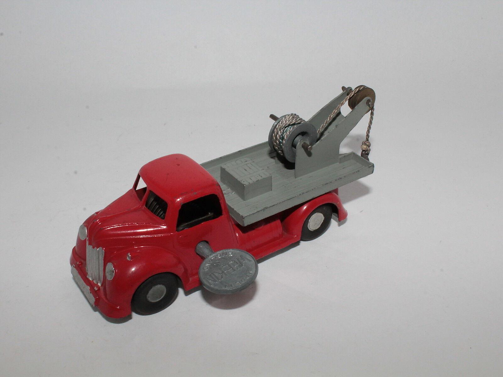 Chad valley-Wee kin-lorries Van Wagon Cable Cable Clockwork Original [os3-041]