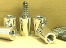 "5 Pack Beer Tap Handle Ferrule 3/8""-16 with 5/16""X1.5"" Hanger Bolt  Repair Parts"