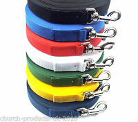 30 ft Long Dog Training Lead,Obedience Lead,Leash,Large In Various Colours,25mm