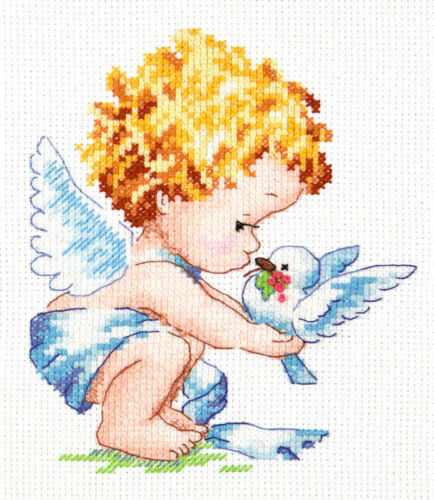 Cross Stitch Kit Light angel