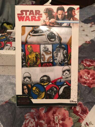 Disney Star Wars Boys/' 5-Pack Graphic Print Cotton Briefs Underwear Size 6