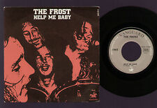 """7"""" THE FROST HELP ME BABY / BLACK TRAIN 1969 MADE IN FRANCE VANGUARD DICK WAGNER"""