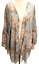 thumbnail 1 - UMGEE Maxi Kimono Cardigan Women's Bell Sleeve Flowy Long Jacket Plus 1X,2X Nwt