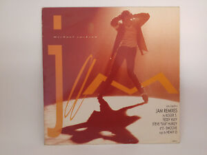 Michael-Jackson-Jam-Vinyl-12-034-Maxi-Single-33-RPM-UK-amp-Europe-1992