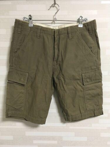 Beams plus olive military cargo shorts pants Men s