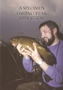WILSON-JOHN-LITTLE-EGRET-FISHING-BOOK-A-SPECIMEN-FISHING-YEAR-CARP-bargain-NEW