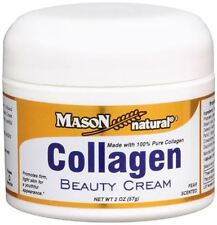 """""""Mason Vitamins Collagen Beauty Cream 100% Pure Collagen Pear Scent, 2-Ounce Jars (Pack of 2)"""""""