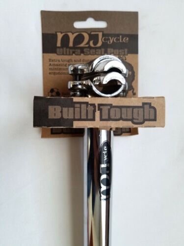 New MJ Cycle BMX Freestyle Micro Adjust Seatpost 25.4mm
