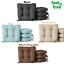"""Set of 4 Dining Chair Cushion Seat Pad 14.5/"""" Outdoor Furniture Multiple Colors"""