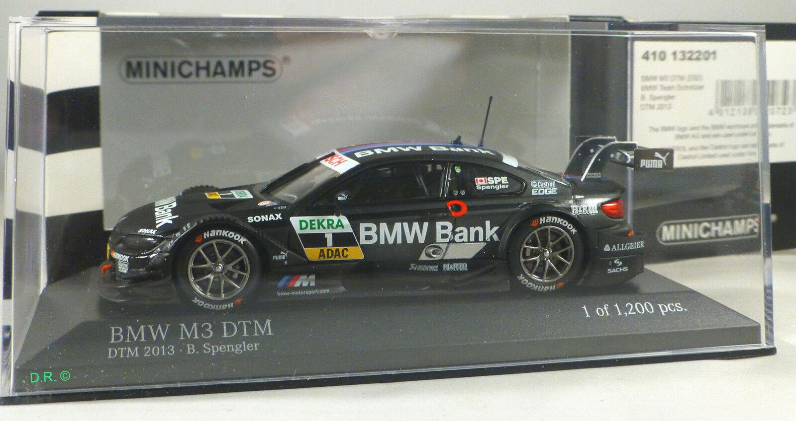 ventas en linea BMW M3 DTM  1 Bruno SPENGLER TEAM TEAM TEAM SCHNITZER DTM 2013 ltd 1,200 MINICHAMPS 1 43  promociones