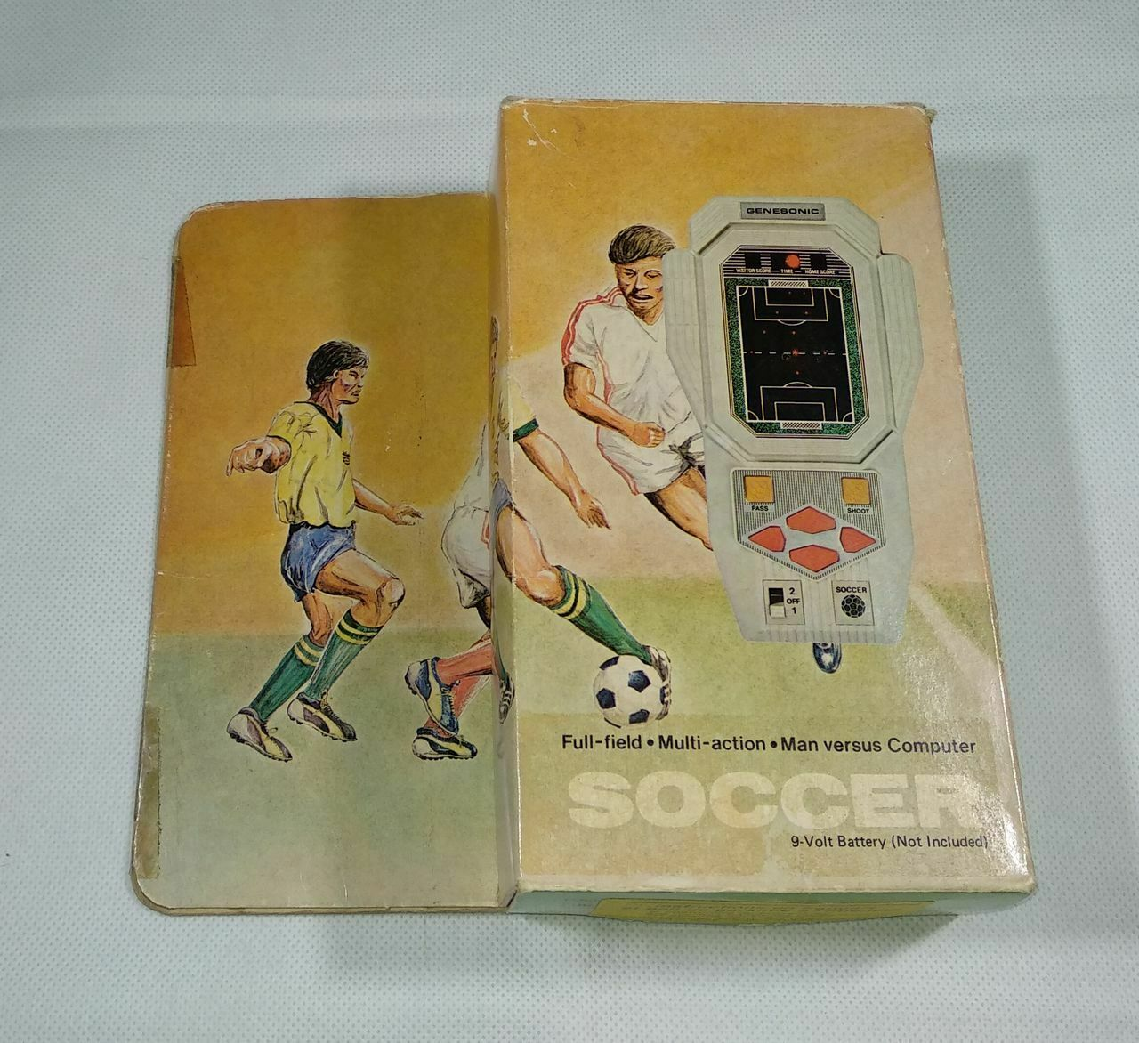 GENESONIC SOCCER - Jeu Electronique   Electronic spel LSI   Tablettop 1980'' {65533;;;\_