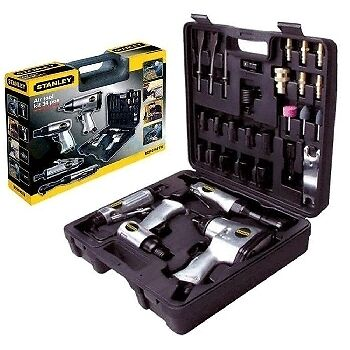 Stanley 34 pce COMPLETE  AIR Tool Kit