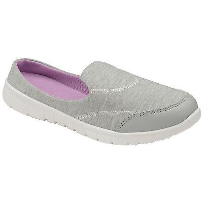 Señoras para mujer Slip On ir mulas de espuma de memoria Caminar Zapatos Casuales ligero entrenador