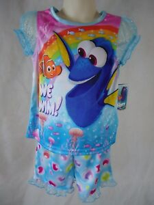 Disney Finding Dory Toddler Boy/'s 2-Piece Shirt /& Shorts Outfit Set Size 4T NWT