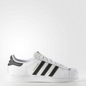 neue adidas frauen originale superstar schuhe [c77153] weiß / schwarz