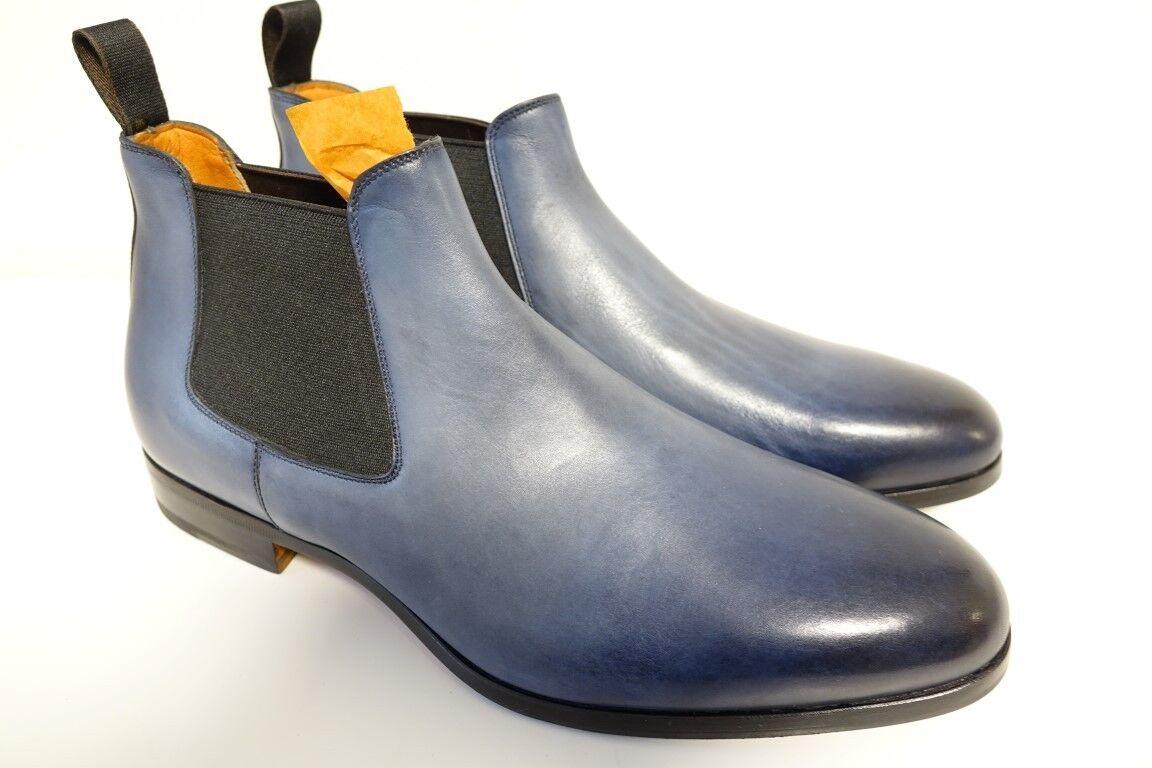 Santoni zapatos botas botas Business señores zapatos talla 8,5 (42,5) - nuevo orig.