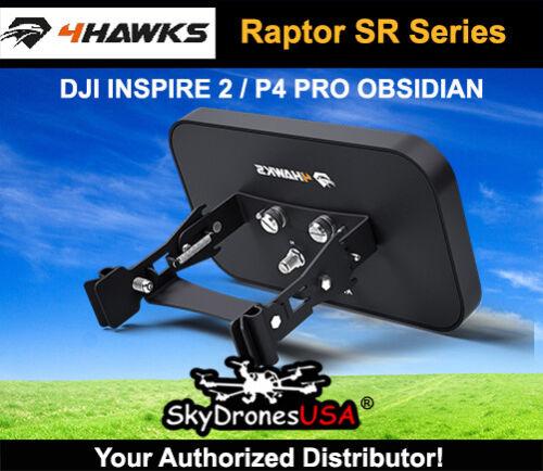 4Hawks Raptor SR Range Extender AntennaDJI Inspire 2 DJI P4 PRO Obsidian