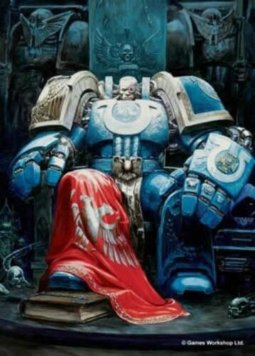 Warhammer 40K Limited Edition Lord of Ultramar Standard Size Card Sleeves 50 ct