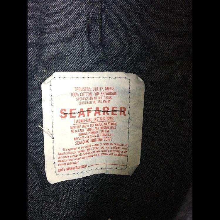 Vintage Sailor Jeans Pinup 70s 60s - image 4