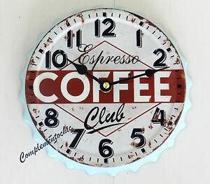 Orologio Da Parete Al Quarzo Quartz Caffe/' Arredo Casa Cucina Bar Negozio