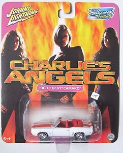 JOHNNY-LIGHTNING-HOLLYWOOD-ON-WHEELS-CHARLIE-039-S-ANGELS-1969-CHEVY-CAMARO-SS