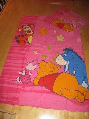 Bettwaren, -wäsche & Matratzen 80x80-100x200 Winnie Puuh+pooh+walt Disney+ferkel+comic Möbel & Wohnen Zielsetzung Bettwäsche Kindermotiv