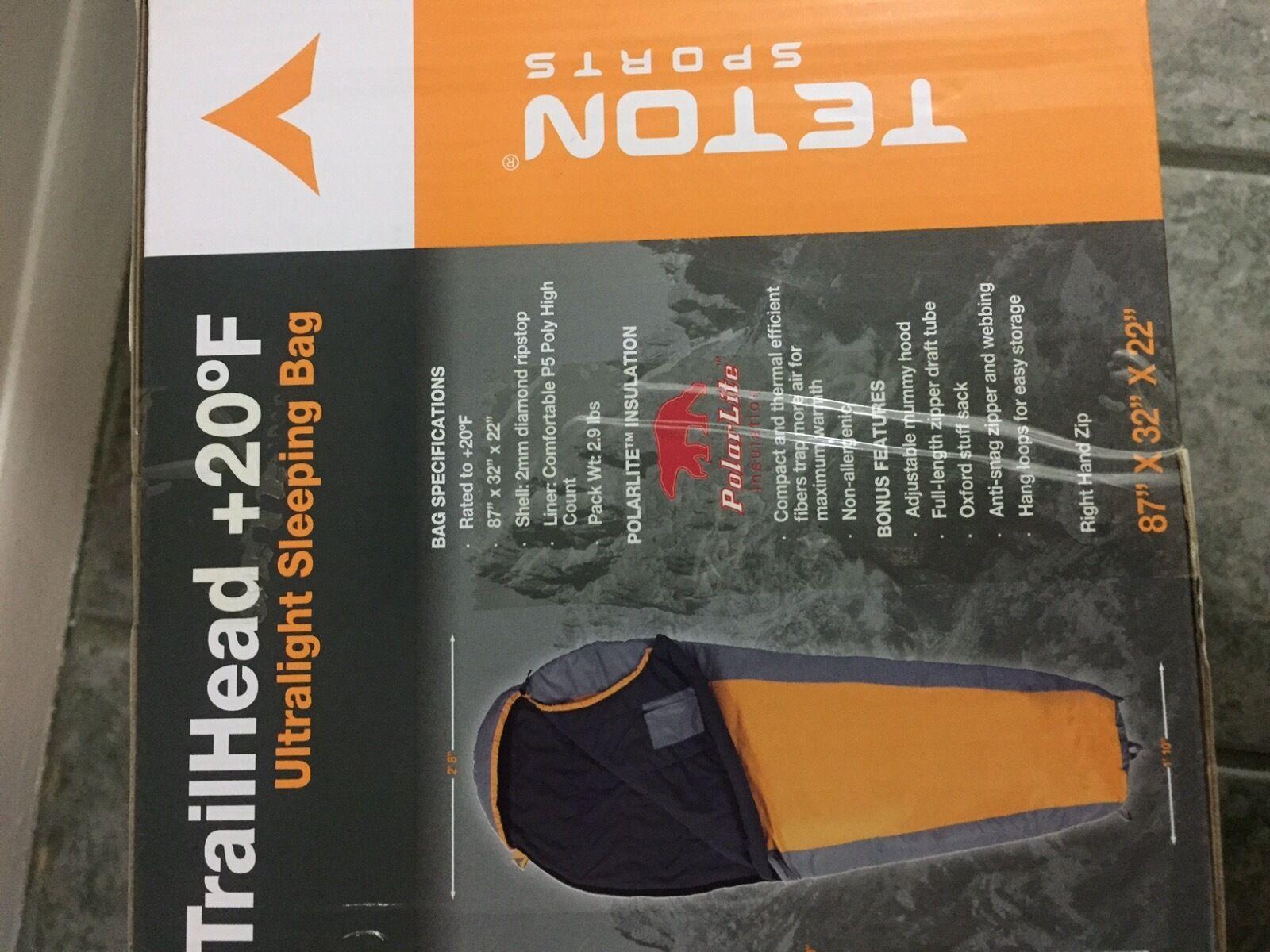 Teton Sports Jusqu' 20 degrés F Ultralight