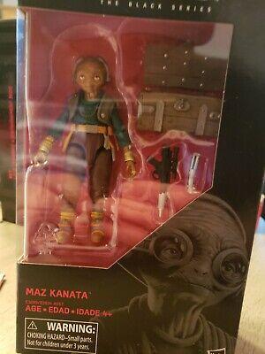 Hasbro 2017 Star Wars Black Series 6 inch figure MAZ KANATA #49 NIB