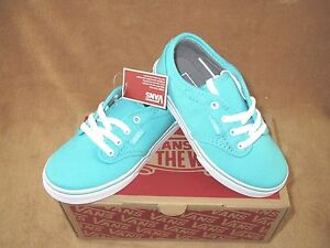 vans atwood low blue