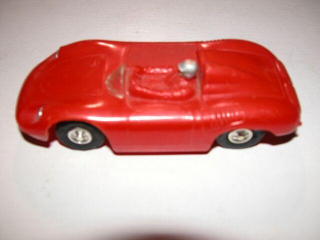Eldon Porsche 1/32 Scale Slot Car No Motor Wires Or Guide Flag