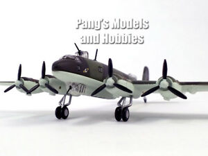 1:144 WWII German FW 200 Condor Bombing Plane Diecast Aircraft Metal Model Toy