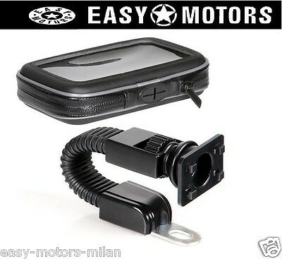 PORTA CELLULARE TELEFONO SMARTPHONE NAVIGATORE GPS X MOTO CICLO SCOOTER QUAD ATV