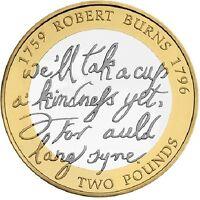 2009 £2 BIRTH OF ROBERT BURNS 1759-1795 TWO POUND COIN HUNT 18/32 RARE 2 zz