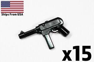 Lego-Custom-Guns-mp40-SMG-WWII-Army-Militaer-Waffe-x15