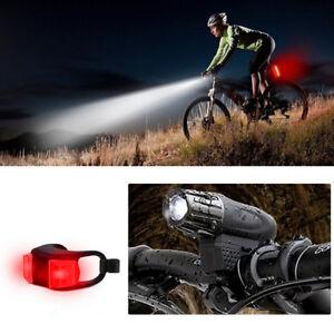 LED-USB-Fahrrad-Licht-Fahrad-Scheinwerfer-Fahrradlampe-Fahrradbeleuchtung
