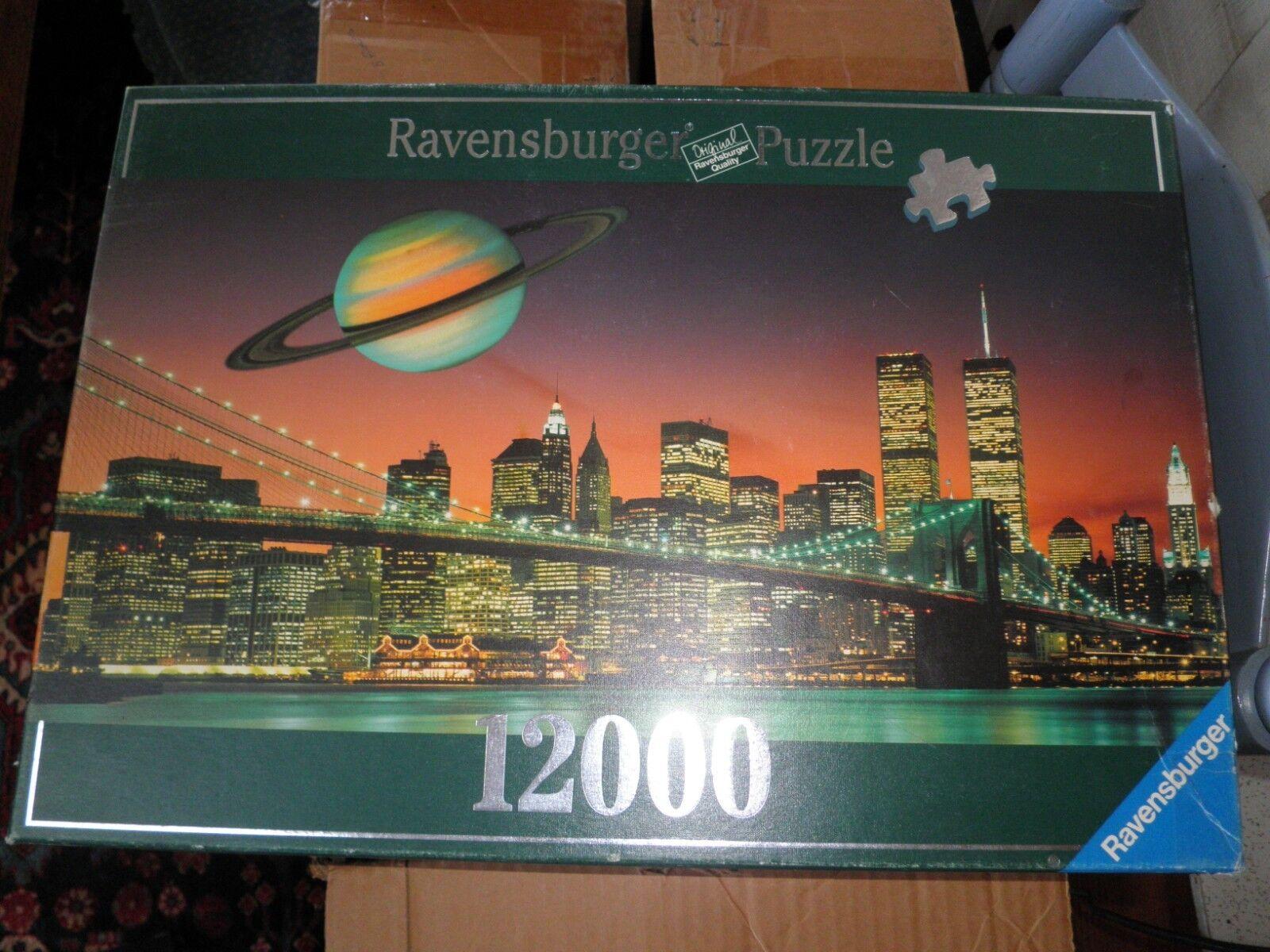 Puzzle Ravensburger 12000 New York 9 11 Twin Towers Ground Zero 1998 Bags Unopen