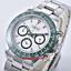 39mm-PARNIS-White-dial-Full-Chronograph-Saphirglas-leuchtend-Uhr-mens-watch Indexbild 1