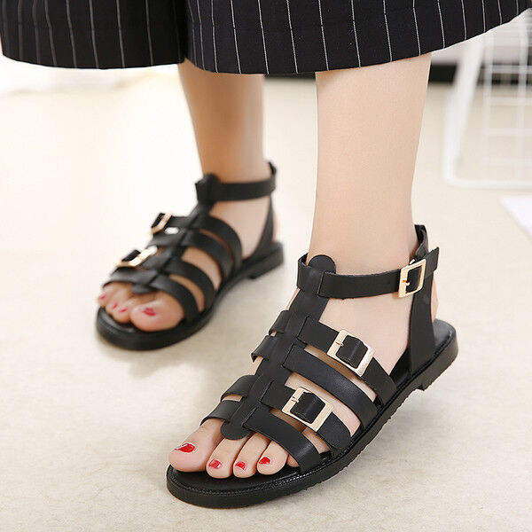 Sandali eleganti bassi  ciabatte pelle colorati nero borchie comodi simil pelle ciabatte 1080 21294a