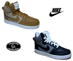 NIKE COURT BOROUGH MID SE WMNS SCARPE DONNA BASKET GINNASTICA SPORTS 916793