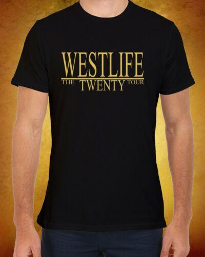 Westlife Reunion Tour 2019 Concert Ladies Women Men Unisex Baggy T Shirt 2233