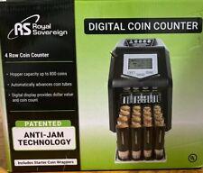 Royal Sovereign Digital 4-Row Electric Coin Sorter