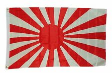 JAPAN RISING SUN NAVAL WW2 FLAG 3 X 5 3X5 NEW POLYESTER