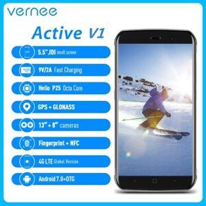 "Vernee Active V1 IP68 Waterproof 4G Smartphone 5.5"" Rugged 4GB+64GB NFC 4200mAh"