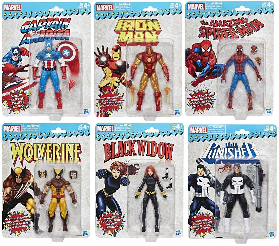 Marvel Legends Legends Legends - Vintage Collector's Set of 6 Action Figures 8cec6d