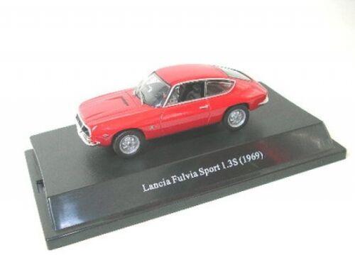 red Lancia Fulvia Sport 1.3S 1969